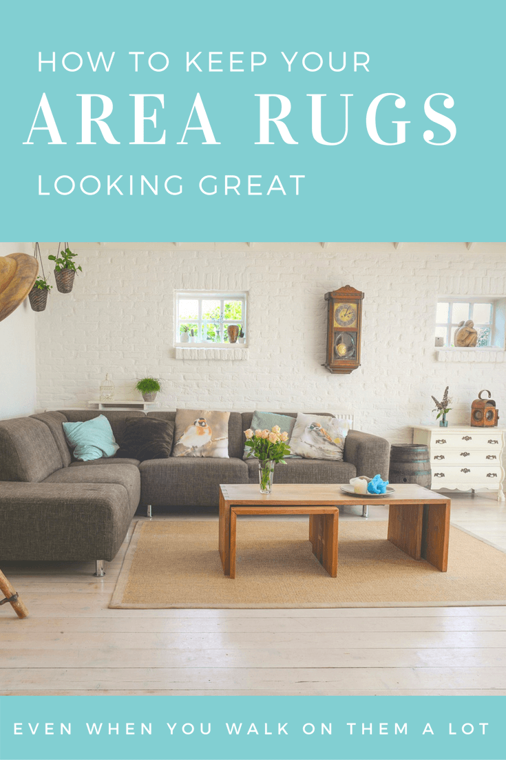 how to keep your area rugs looking great