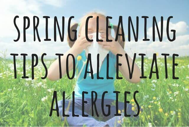 Spring Cleaning Tips To Alleviate Allergies Short Stop Chem Dry