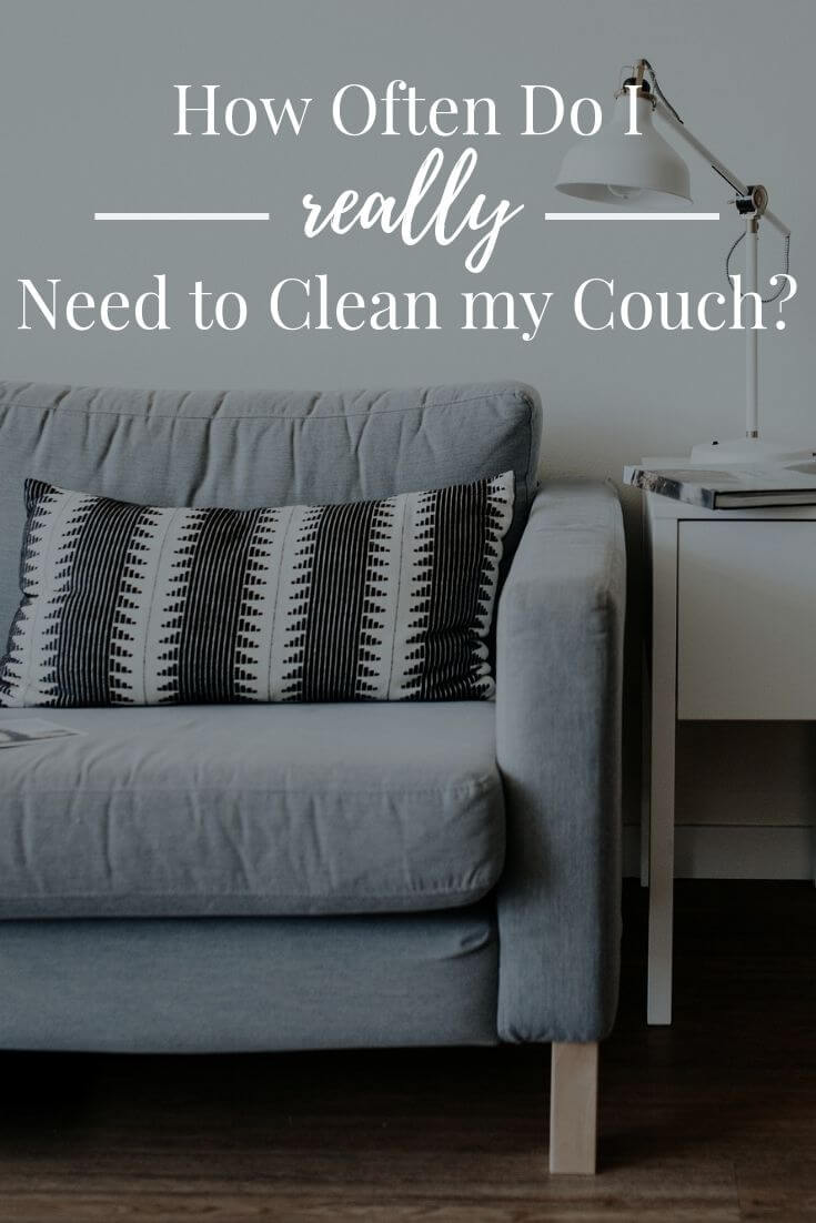How Often Do I Really Need To Clean My Couch Short Stop