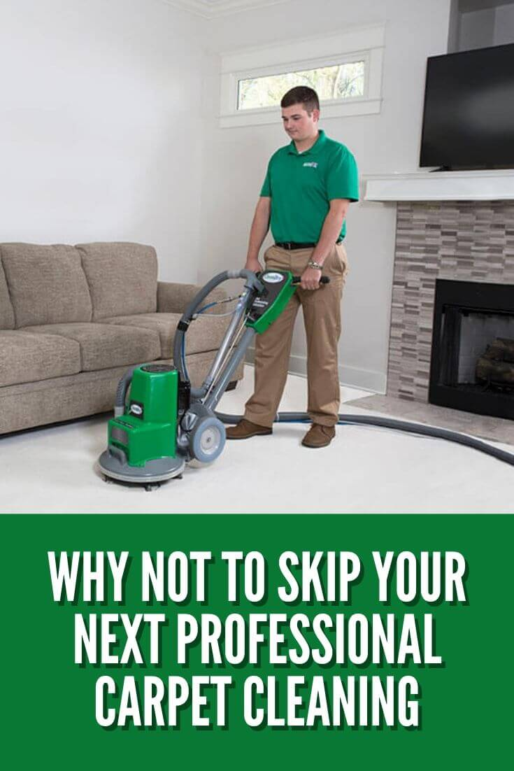 Why NOT To Skip Your Next Professional Carpet Cleaning